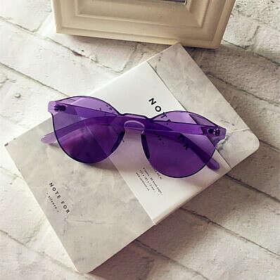 Цветные очки с прозрачной оправой (7 вариантов) :: Op Shop!