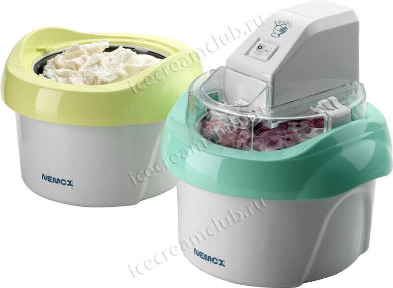 Мороженица Nemox Gelato Duo Mio 1.1L