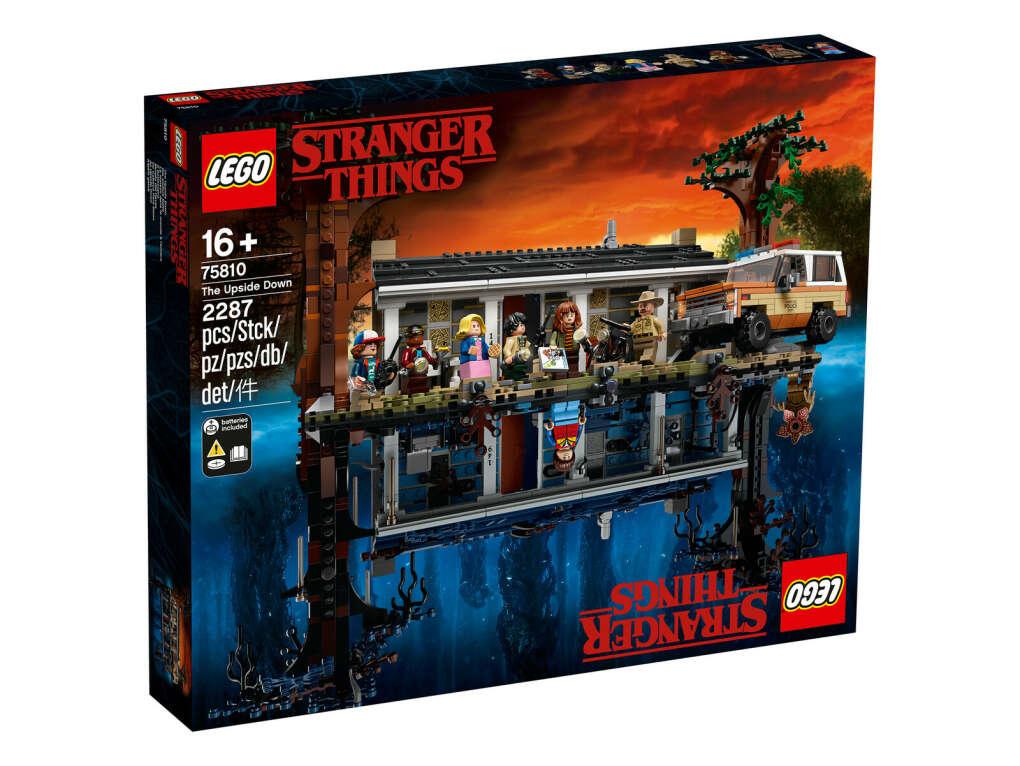 """Конструктор Lego 75810 """"Очень странные дела"""""""