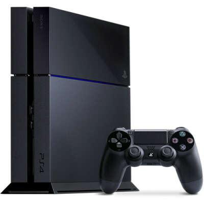 Игровая консоль Sony PlayStation 4 500 ГБ черная