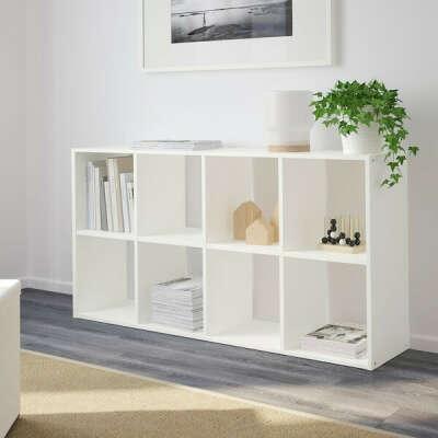 ФРИДЛЕВ Стеллаж - белый - IKEA