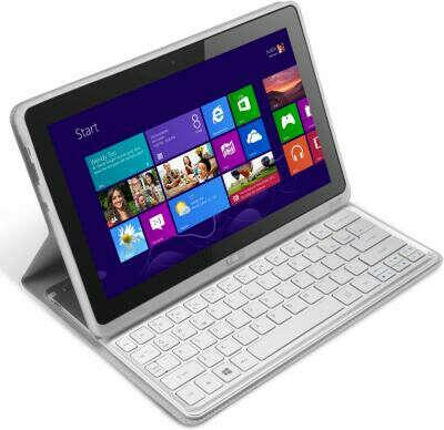 Acer Iconia Tab W701 i3 60Gb + чехол-клавиатура (серебристый)