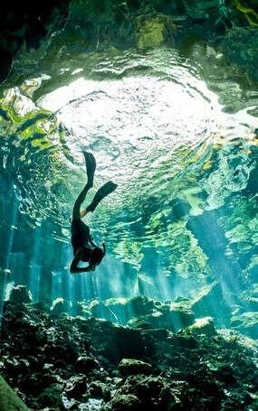 Сфоткаться под водой
