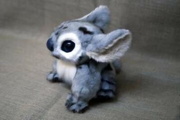 Stitch Realistic Fantasy Creature – 100% Handmade