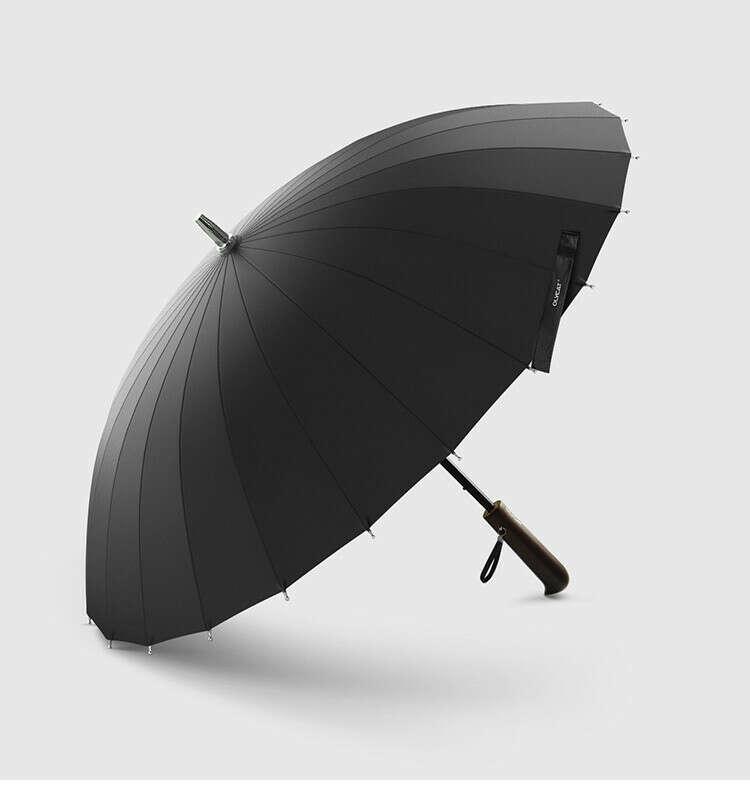 Зонтик черный
