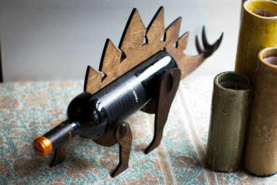Подставка для вина Динозавр