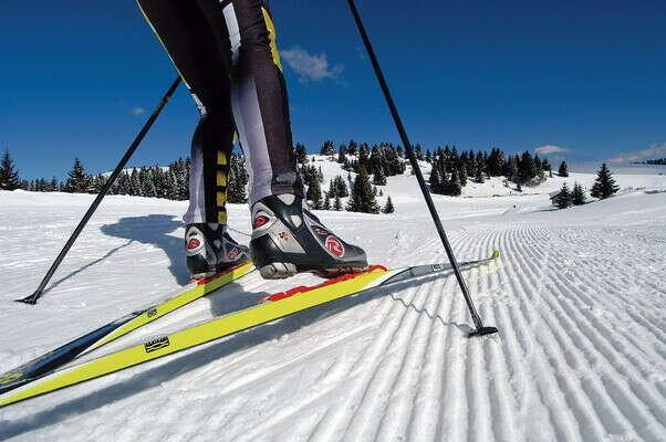 Вспомнить, как ездить на лыжах