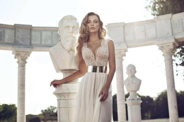 Свадебное платье индивидуального дизайна