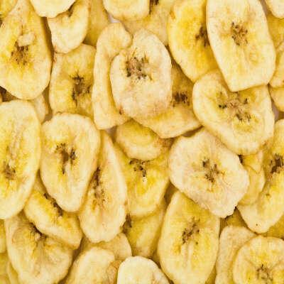 Сушёные бананы-чипсы