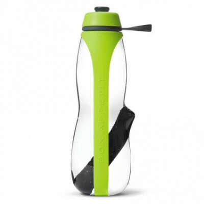 Купить Эко-бутылка Eau Good Duo с фильтром зеленая оптом в Москве - FineDesign