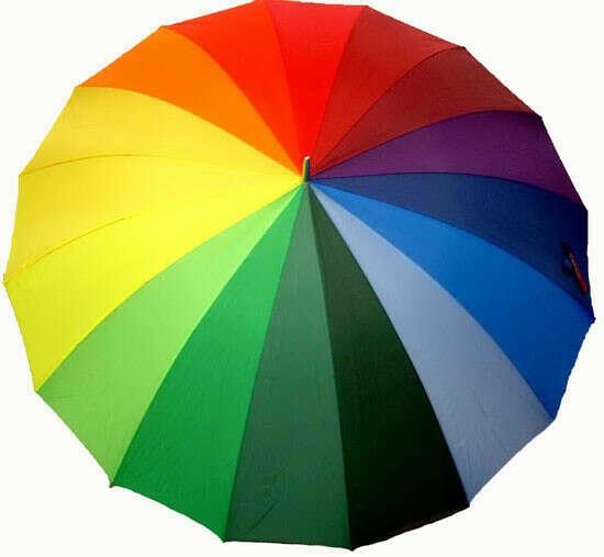 Зонт Радуга (большой)