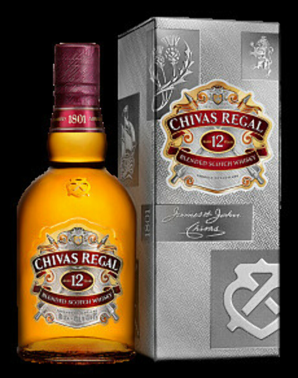 Виски Chivas Regal 12 years old, 0.7 л.