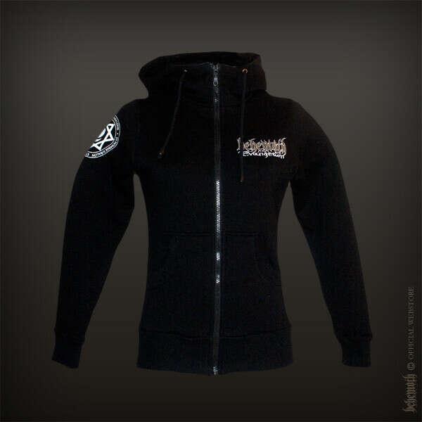 """Evangelion"" girlie hooded sweatshirt with zip"