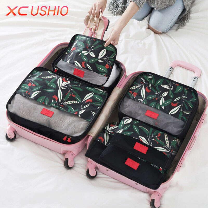 Комплект дорожных сумок для чемодана