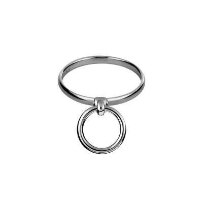 Кольцо Лиш серебряное