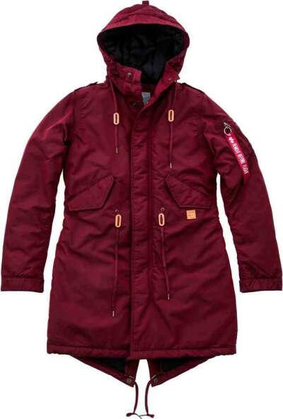Alpha Industries Fishtail CW TT Куртка женская