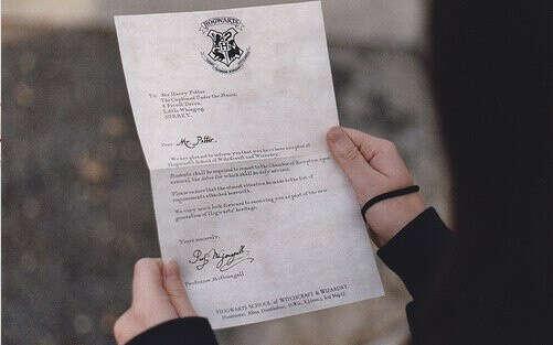 Письмо из Хогвартса!