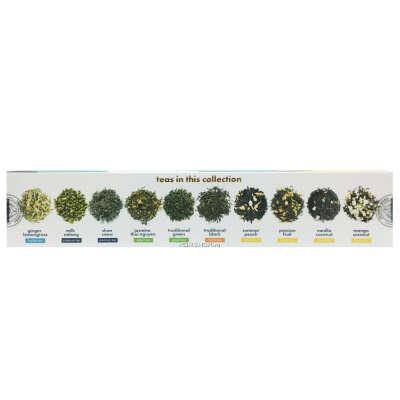 """Подарочная коллекция из 10 видов листового чая """"I wish You"""" Teapins Sense of Asia, Вьетнам, 50 г"""