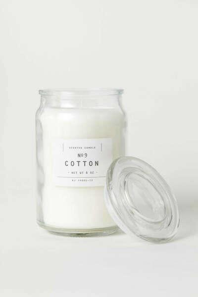 Ароматическая свеча Cottom от H M Home (большая)