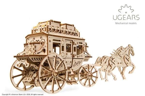 Механическая модель «Почтовый дилижанс»