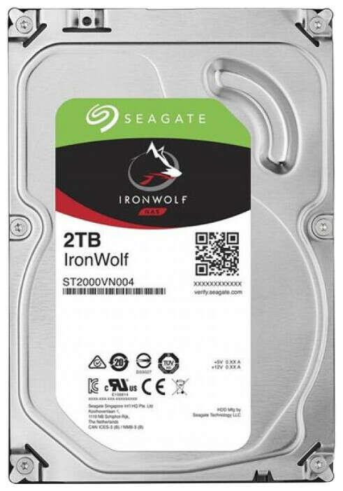 Жесткий диск 2TB Seagate ST2000VN004