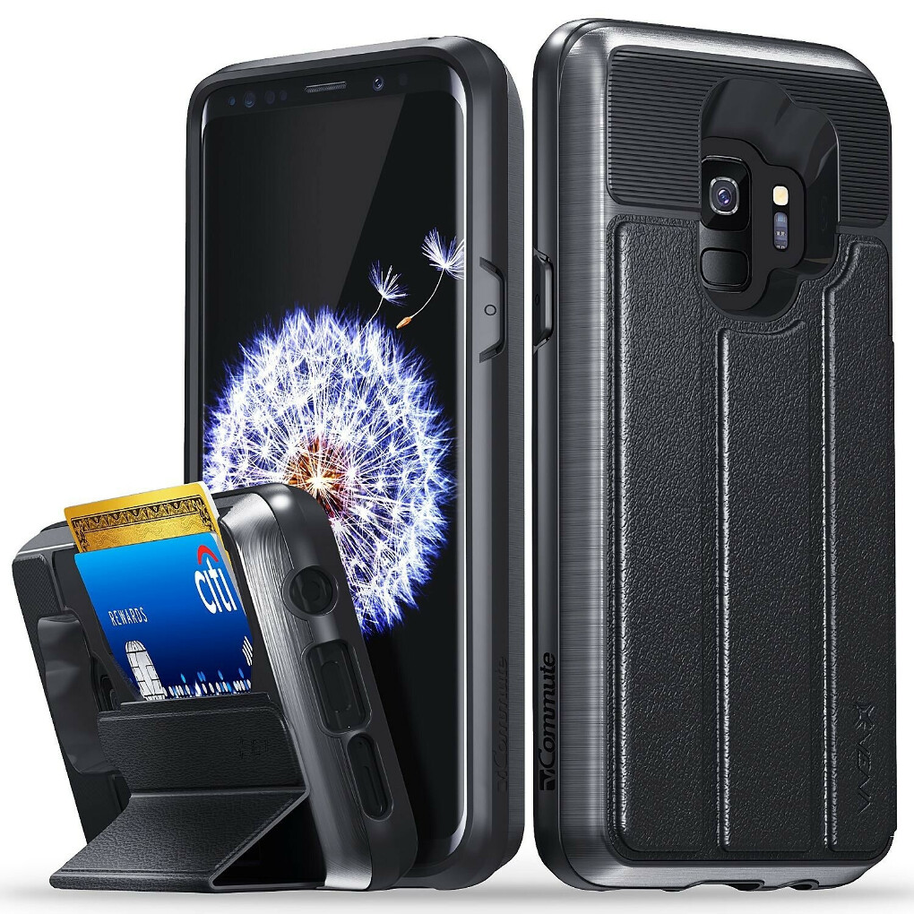Galaxy S9 Wallet Case vCommute