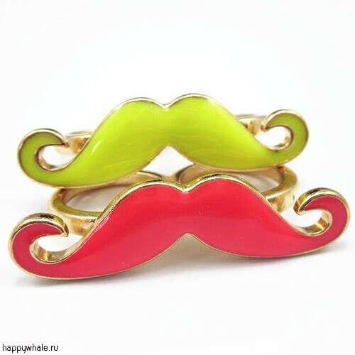 кольцо с усами