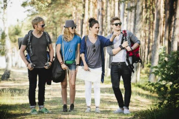 Путешествие с друзьями