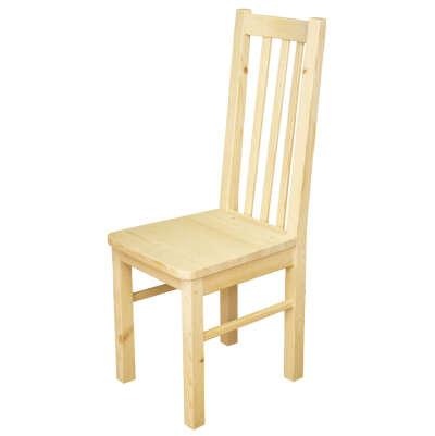 Деревянный некрашеный стул