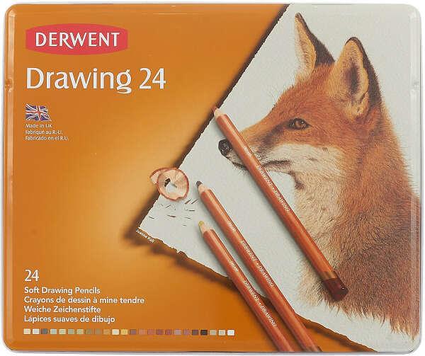 Набор цветных карандашей Derwent Drawing
