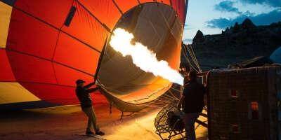 Хочу полетать на воздушном шаре