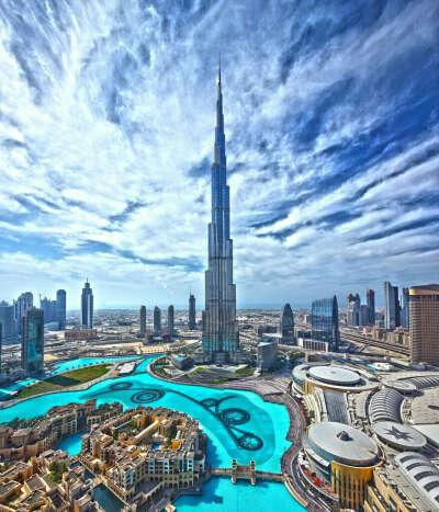 Посетить самую высокую башню в мире Бурдж-Халифа