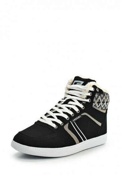 Женская обувь кеды Crosby за 3599.00 руб. в интернет-магазине Lamoda.ru