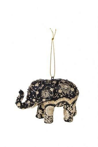 Украшение декоративное «Слон с узорами»