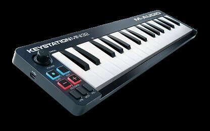 MIDI КЛАВИАТУРА M-AUDIO KEYSTATION MINI 32 MKII