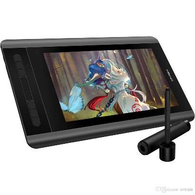 XP-Pen Artist 12 Графический планшет для рисования планшеты монитор со встроенным дисплеем, настраиваемыми клавишами и тач-б