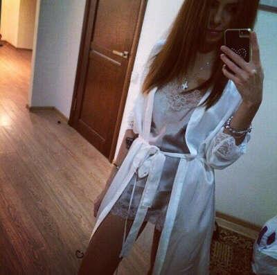 Пижама и халат шелковый