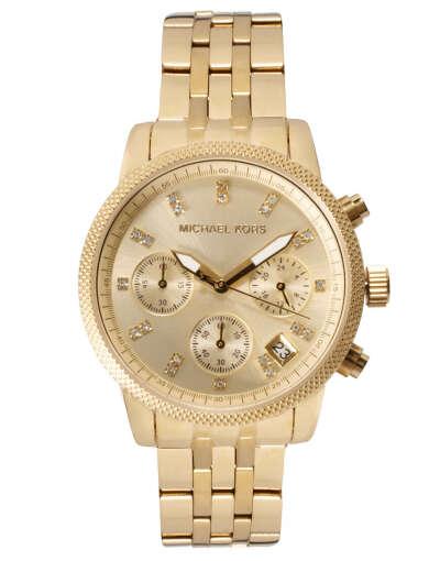 часы MK золотые