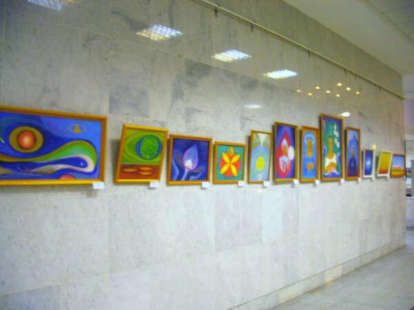 свою выставку  в Питере