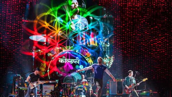 Попасть на концерт Coldplay