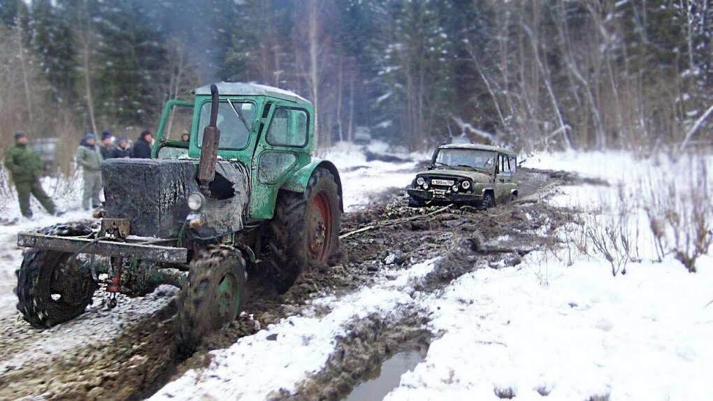 Курсы вождения по бездорожью