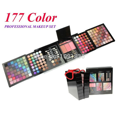 Free Shipping 177 Color PRO Makeup Set Eyeshadow Palette Blush Lip Gloss Brow Shader Concealer Eyeshadow Gel + Brush-in Makeup Sets from Health & Beauty on Aliexpress.com | Alibaba Group