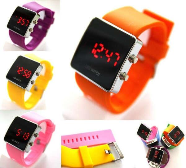 Наручные электронные часы Led Watch