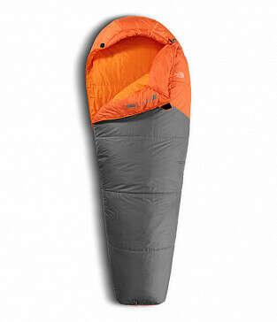 Спальник The North Face Aleutian 40/4 Monarch Orange/Zinc Grey 183 см