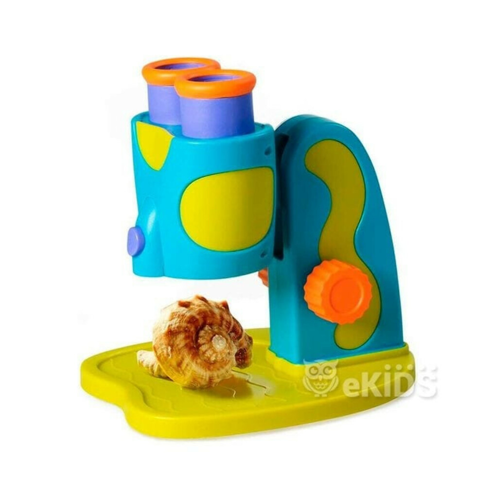 Развивающая игрушка серии  Геосафари  - МОЙ ПЕРВЫЙ МИКРОСКОП - Educational Insights