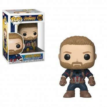 Funko POP! Bobble: Marvel: Avengers Infinity War: Captain America / Фигурка ФАНКО ПОП: Марвел: Башкотряс: Мстители Война бесконечности - Капитан Америка