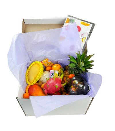 Набор экзотических фруктов