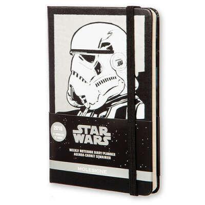 """Moleskine Еженедельник """"Star Wars"""" Pocket черный 2016"""