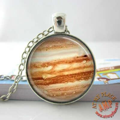 """Кулон-медальон """"Планета Юпитер"""""""