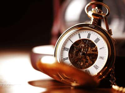 Винтажные карманные часы
